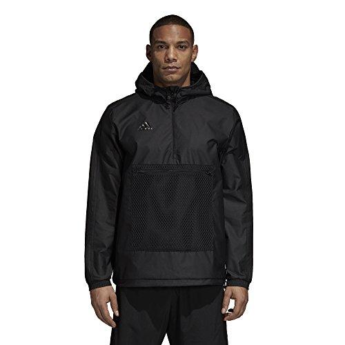 adidas Men's Soccer Tango Windbreaker, Black, Medium