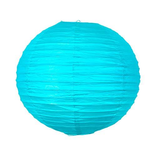 SKYLANTERN Boule Papier 40 cm Turquoise