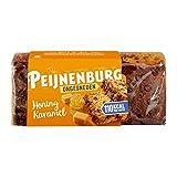 Pastel de especias holandesas con caramelo | Peijnenburg | Pan de jengibre Caramelo de miel sin cortar | Peso total 465 gramos