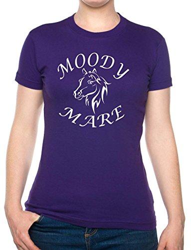 De caras de Mare/y montar a caballo/Carcasa de caballos tamaño de la funda de traje de neopreno para mujer T-camiseta de manga corta S-XXL