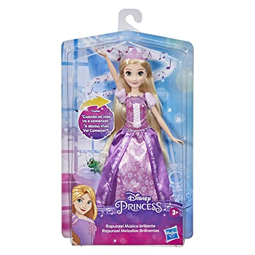 Disney Princess Rapunzel Shimmering Song, muñeca Que Canta