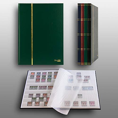 Prophila Collection Clasificador de 16 Paginas, Color Verde