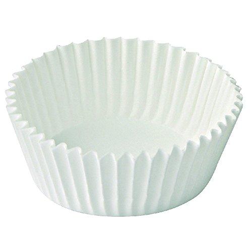 Dr. Oetker Papier-Backförmchen Ø 5 cm, weiße Muffinförmchen aus Papier, Förmchen für Cupcakes, Muffins und Pudding - hitzebeständig bis 220 °C (Menge: 150 Stück)