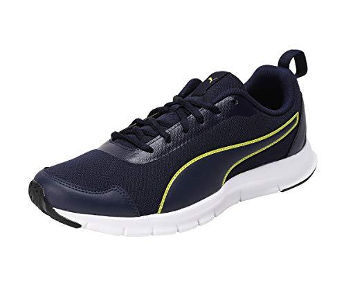 Puma Men's Hurdler Idp Peacoat-Blazingyellow Running Shoes-8 UK (42 EU) (9 US)...
