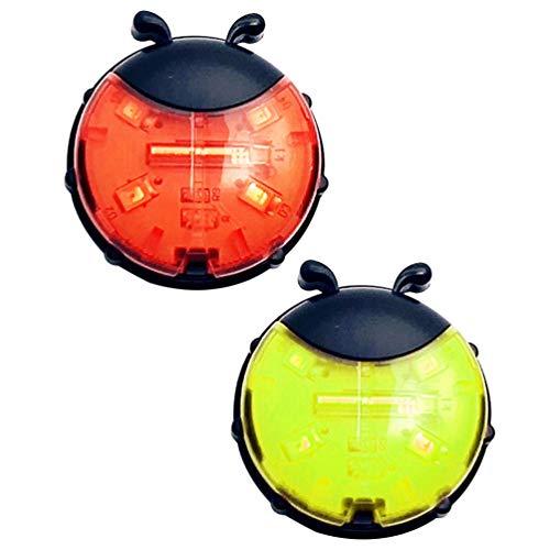 CLISPEED 2 Piezas Luces de Radios de Bicicleta Luces Decorativas de Rueda de Bicicleta Led Luces de Ciclismo Spokelit para Bicicleta de Montaña Radios Decoración Seguridad Y Advertencia