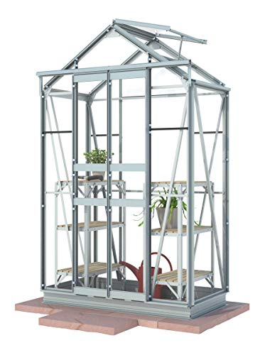 Simplicity Sandon Greenhouse 4ft x 2ft