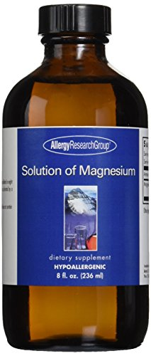 Solution of Magnesium Allergy Research Group 8 oz Liquid Allergy Research Group Magnesium