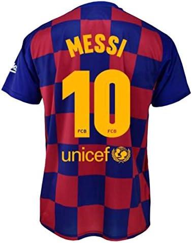 Camiseta 1ª equipación FC. Barcelona 2019/2020 - Replica Oficial con Licencia - Dorsal 10 Messi