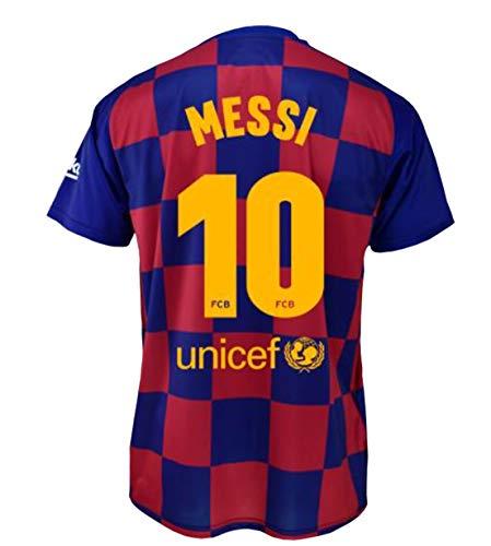 Camiseta 1ª equipación FC. Barcelona 2019-20 - Replica Oficial con Licencia - Dorsal 10 Messi - Adulto Talla M