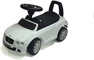 Licensed Ride on Bentley Glide Pusher Car - 326, White
