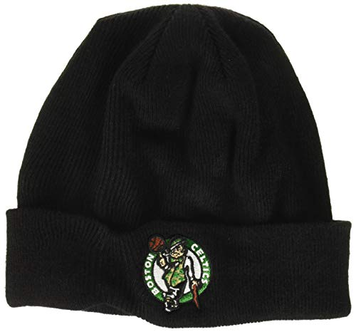 OTS NBA Boston Celtics Youth Raised Cuff Knit Cap, Team Color, Youth