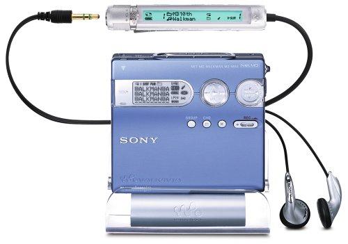 Sony MZ-N910/l MiniDisc Rekorder blau
