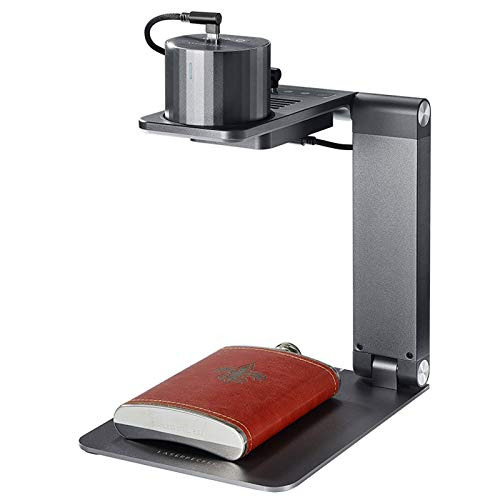 WZPG Máquina de Grabado láser portátil, operación de la aplicación/automática y enfocando la máquina de Marcado láser de Escritorio pequeño, Grabado en el hogar y máquinas de Marcado