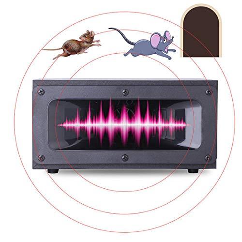 EUS Repelente Ultrasónico De Ratones 360 ° Repelente De Ratones Control Electrónico De Plagas Ratones Disuasión De Ondas Ardillas, Ratones, Ratas Y Otros Roedores Uso En Interiores, 220 V