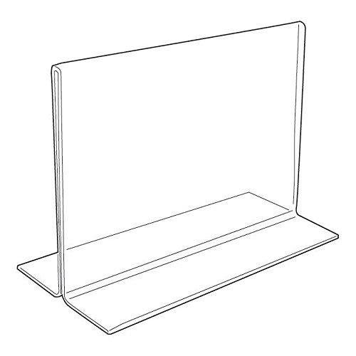 Horizontal Acrylic Sign Holder 7