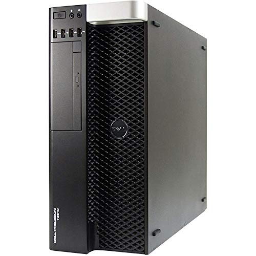 Dell T3610 Torre Workstation Intel Xeon E5-1607 4 núcleos | 32 GB de RAM | 256 GB SSD + 1 TB HD | Nvidia Quadro NVS 300| Windows 10 Pro (reacondicionado)