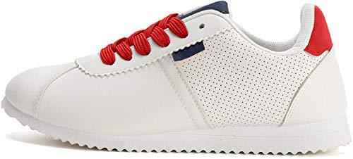 K KomForme dames lederen loopschoenen trailloopschoenen lichte fitnessschoenen sneakers maat 36-41