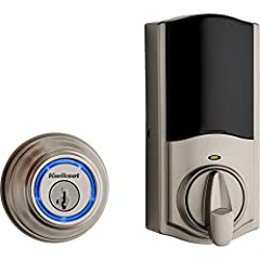 Your smartphone is now your key - touch to open Kevon smart lock powered by your smartphone and Bluetooth Kwikset Kevon 2nd Gen now works with Alexa voice commands (requires Kevon Plus hub, sold separately) Send and manage up to 24 ekeys which can be...