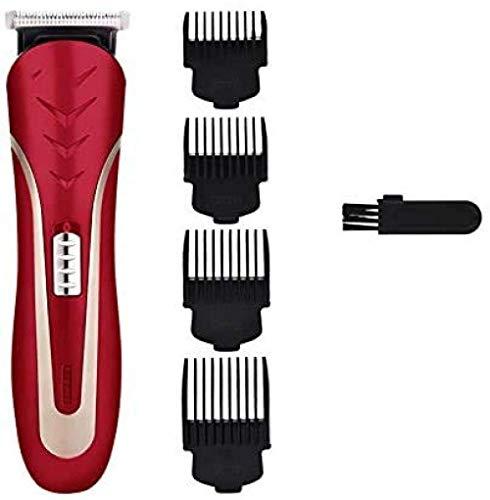 ÉTM Coupe de Cheveux Tondur Electric Clipper Coiffure Coupe 3/6/9/12mm Limite Comb Hommes Carbon Steel Head Shaver Rechargeable Trimer Beard Cutter Razor