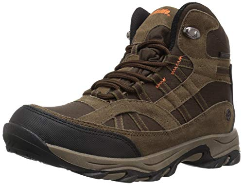 Northside Unisex-Kid's Rampart MID Waterproof Hiking Boot, Medium Brown, 3 Medium US Little Kid