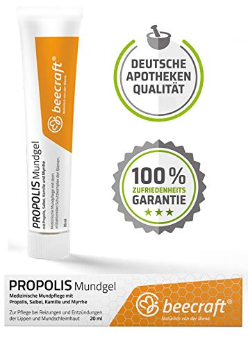 Preisvergleich Produktbild Beecraft Propolis 20 ml Mundgel
