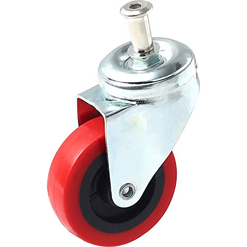"Illinois Industrial Tools 2.5"" Swivel Caster Wheel - Low Profile Creeper"