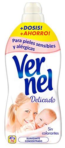 Vernel Suavizante Concentrado Delicado - 76 lavados (1.748 l)
