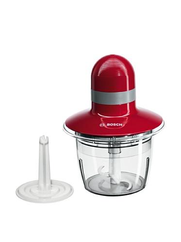 Bosch MMR08R2 - Picadora, 400 W, Capacidad 1.3 litros, color rojo