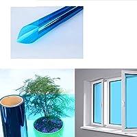 OUPAI 窓フィルム 窓用フィルム、家庭用およびオフィス用の二方向透視静的固着ガラス色合い昼間の熱制御UV除去およびグレア低減2個47インチ×3フィート ガラスフィルム (Color : C, Size : 59inch × 3feet)