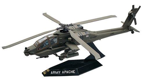 Revell SnapTite Apache Helicopter Plastic Model Kit