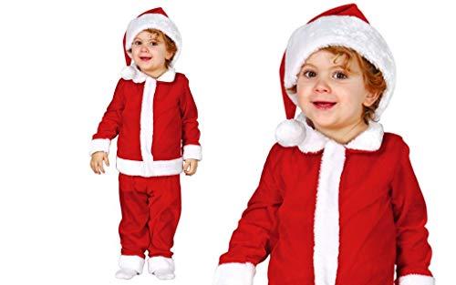 GUIRMA Costume Babbo Natale Lusso Bimbo Neonato