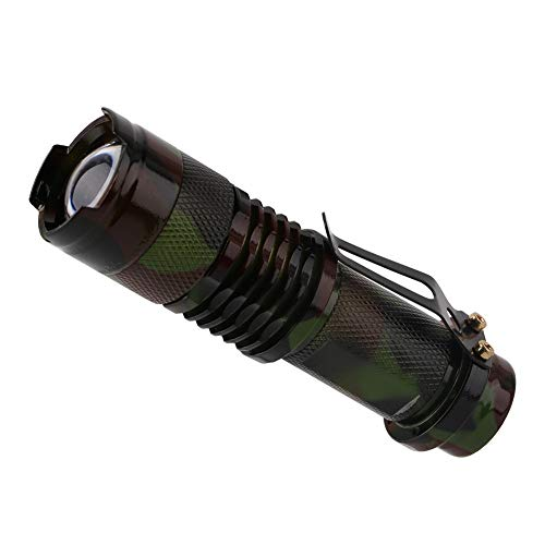 3 Modes Mini Lampe De Poche LED Imperméable 1000 Lumens Zoomable Portable LED Lanternes De La Torche for Camping Chasse Alimenté