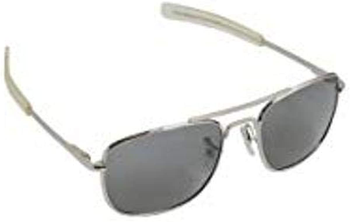 outlet Humvee Pilot Sunglasses - Grey Chrome Lens Frame Polarized Houston Mall