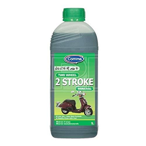 Comma TST1L minerale motorolie voor 2-takt en tweewielers 1 l