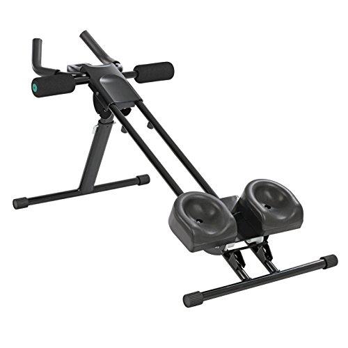 VITALmaxx Entraîneur de fitness 'Fitmaxx 5' pliable | entraîneur pour le dos, l'abdomen, les bras et les jambes en un seul appareil avec ordinateur de fitness | facile à ranger et peu encombrant