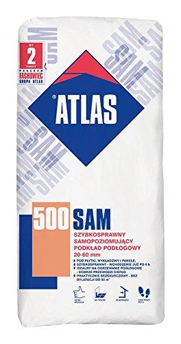 Ausgleichsmasse ATLAS SAM 500 25Kg selbstnivellierend Kalksulfat Basis 20-60 mm