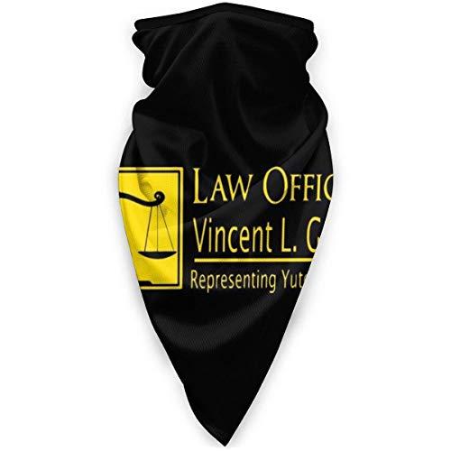 WH-CLA Bufanda Facial,Oficinas Legales De My Cousin Vinny,Cuello Bufanda Protección UV Pasamontañas Sin Costura Calentador De Cuello para Caza Senderismo Pesca
