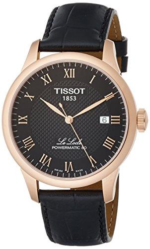 Tissot Herren-Uhren Analog Automatik One Size Leder 87131831