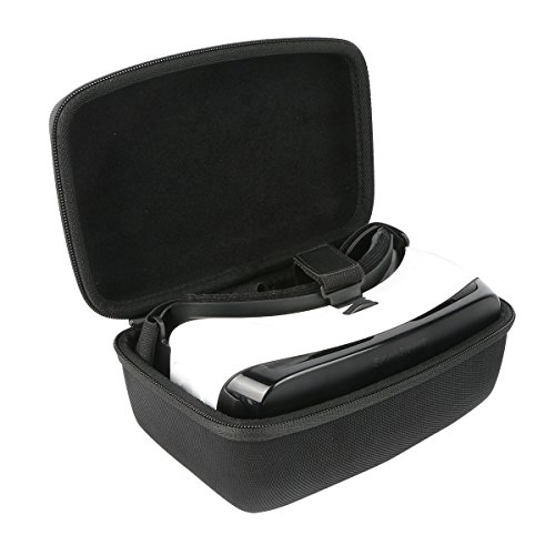 Khanka Hard Case for Samsung Gear VR - Note 5, GS6s (US Version w/Warranty - Discontinued by Manufacturer) - Black