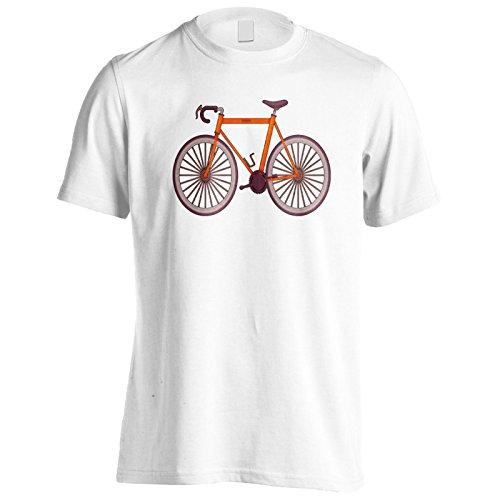 INNOGLEN Arte Retro Bicicleta Vintage Camiseta de los Hombres q305m