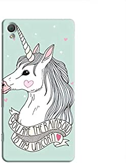 Cover It Up Rainbow Unicorn Hard Case For Xperia Z4, Multi Color
