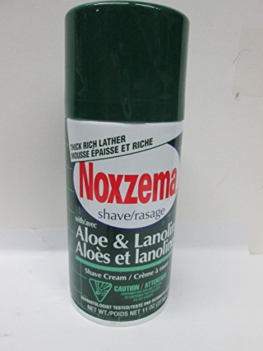 Noxzema Shave Cream Aloe Size 11.Z