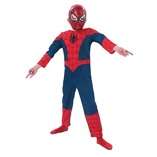 Rubbies - Disfraz de Spiderman para nio, talla S (3-4 aos) (886920S)