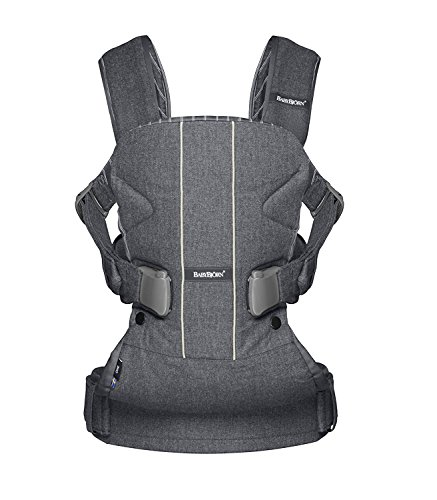 BABYBJORN Baby Carrier One - Gray/Pinstripe (Limited Edition Color), Cotton