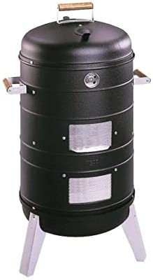 2 in 1 Charcoal Water Smoker (Converts into a Lock 'N Go Grill)