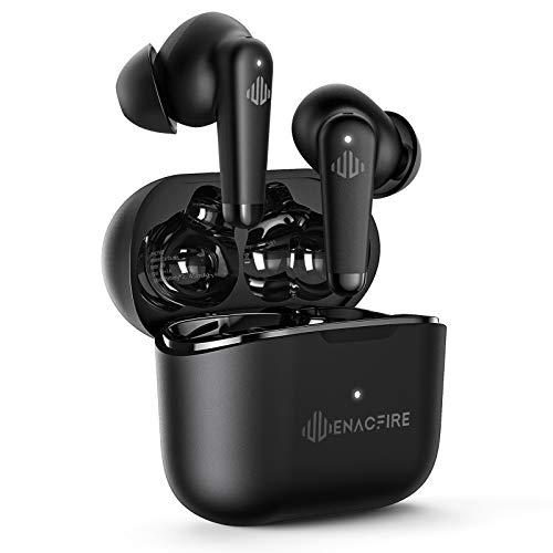 Active Noise Cancelling Kopfhörer, ENACFIRE A9 Bluetooth Kopfhörer aktive Geräuschunterdrückung In-Ear kopfhörer, IPX7, Bluetooth 5.0, USB-C Quick Charge, 32 Std. Spielzeit, mit 4 Mikrofone