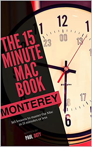 The 15 Minute Mac Book (Monterey Edition) (English Edition)