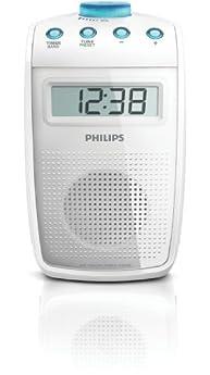 Foto di Philips AE2330 Radio per doccia, portatile (Sintonizzatore AM/FM, LCD), colore: Bianco