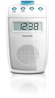 Philips AE2330/00 - Radio de Ducha (Antideslizante y Resistente a Salpicaduras, sintonizador Digital FM), Color Blanco (B003B6745E) | Amazon price tracker / tracking, Amazon price history charts, Amazon price watches, Amazon price drop alerts