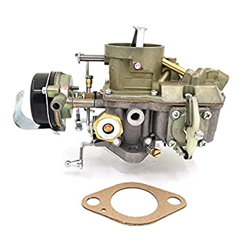 Autolite 1100 1 Barrel Carburetor Fits 1963 to 1968 Mustang Falcon Comet straight six cylinder 170 & 200 CID engines hot air choke works with automatic and manual transmissions